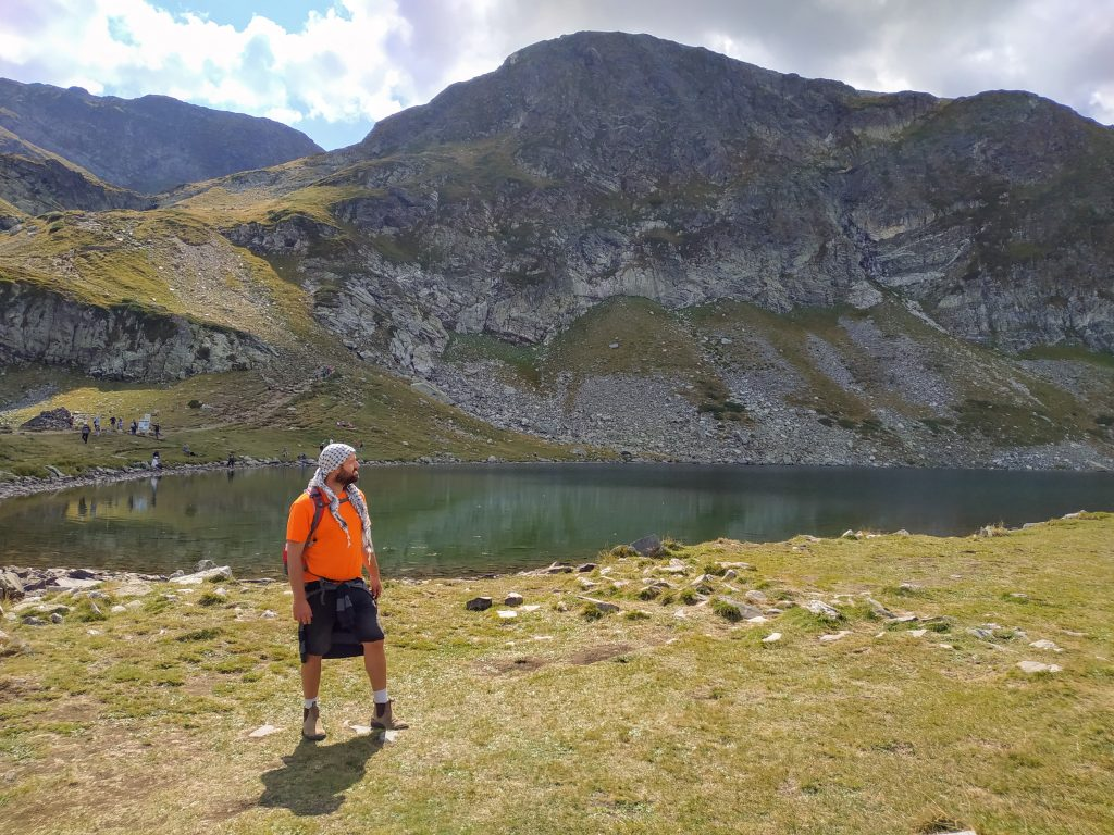 Picture of me in the 7 lakes national park, Bulgaria